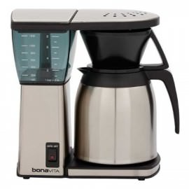 Bonavita BV1800 Review and a picture of the coffee maker.