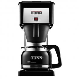 BUNN BXB Velocity Review and a picture of the coffee maker.